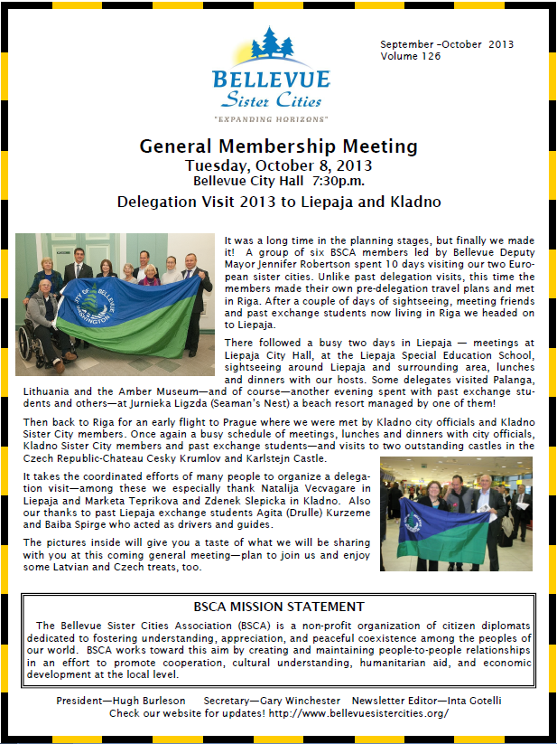newsletter sept-oct 2013